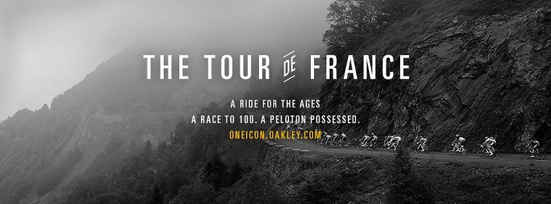 Oakley Tour de France advert 2013