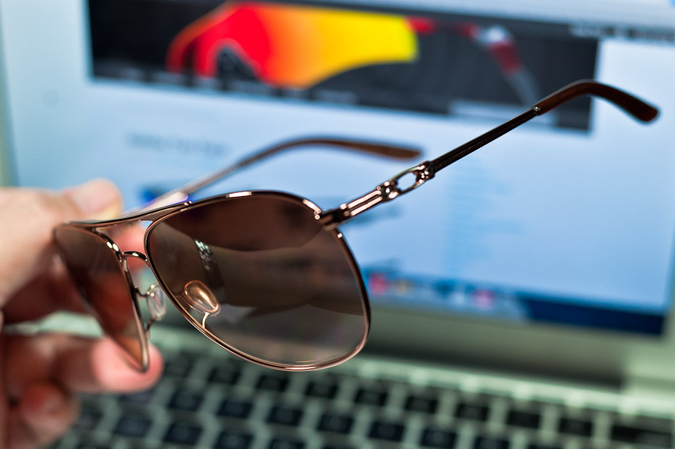 $280 OAKLEY DAISY CHAIN™ SKU# OO4062-01 Color: Rose Gold/VR50 Brown Gradient