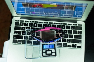 Weight of Oakley Commit SQ is 21.5g