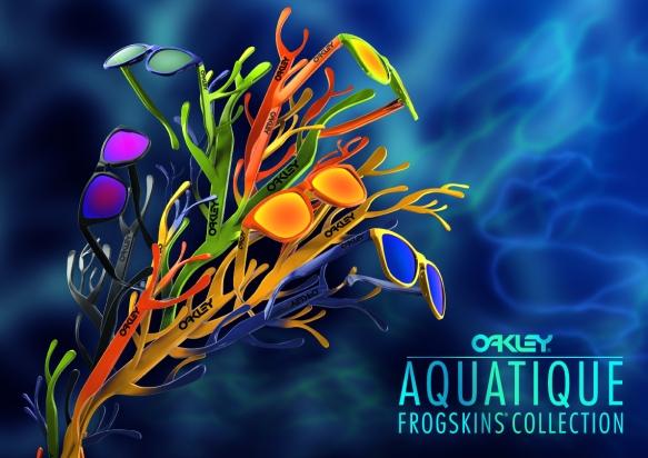 Oakley Frogskins Aquatique Advertisements