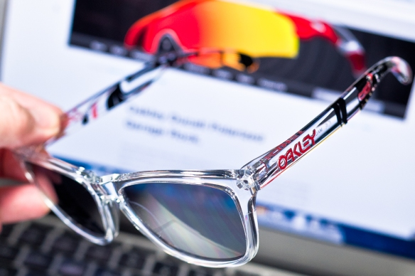 SGD$240 Frogskins Limited Edition Danny Kass Polished Clear/Grey