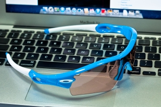 RADAR® PATH™ PHOTOCHROMIC SKU# 09-751 Color: Sky Blue/VR50 Photochromic Vented