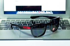 DUCATI GARAGE ROCK™ SKU# OO9175-12 Color: Polished Black/Grey Polarized