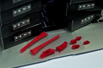 Detail Shot FLAK JACKET® FRAME ACCESSORY KITS SKU# 06-214 Color: Red