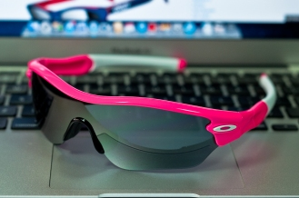 RADAR® EDGE™ SKU# OO9184-09 Color: Pink Lava/Black Iridium