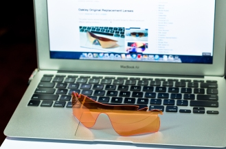 SGD$120 RADARLOCK™ PATH™ REPLACEMENT LENSES SKU# 43-543 Color: Persimmon Vented