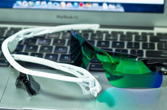 RADARLOCK™ PATH SKU# OO9181-22 Color: Polished White/Jade Iridium Vented & VR28 Vented