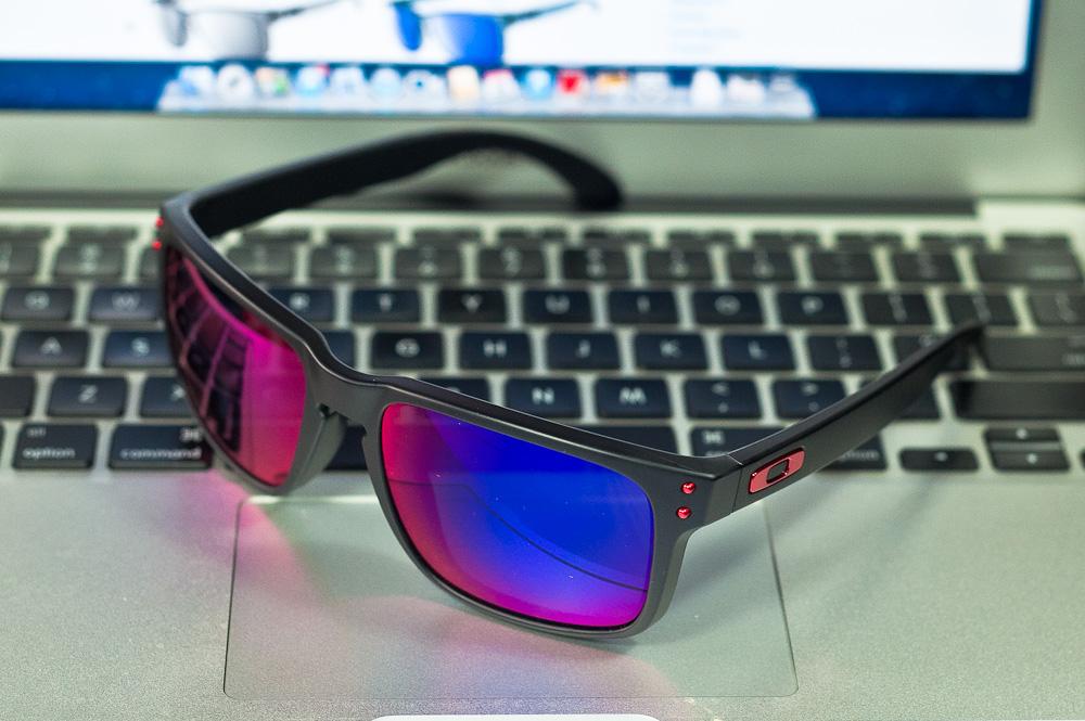 ae8930ed44 Oakley Sunglasses Holbrook Oo9102-36 Matte Black Positive Red Iridium