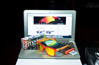 LIMITED EDITION FROGSKINS® AQUATIQUE COLLECTION SKU# 24-359 Color: Hotspot/Fire Iridium