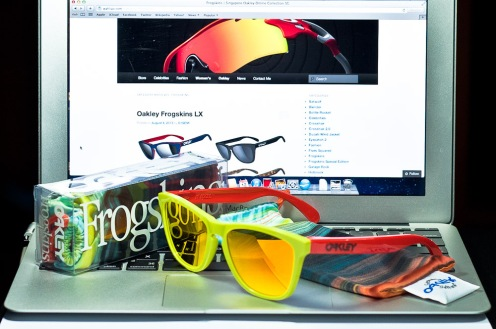 fr SGD$190 LIMITED EDITION FROGSKINS® AQUATIQUE COLLECTION SKU# 24-361 Color: Lagoon/Fire Iridium