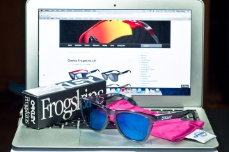 FROGSKINS® SKU# 03-292 Color: Crystal Black/Ice Iridium