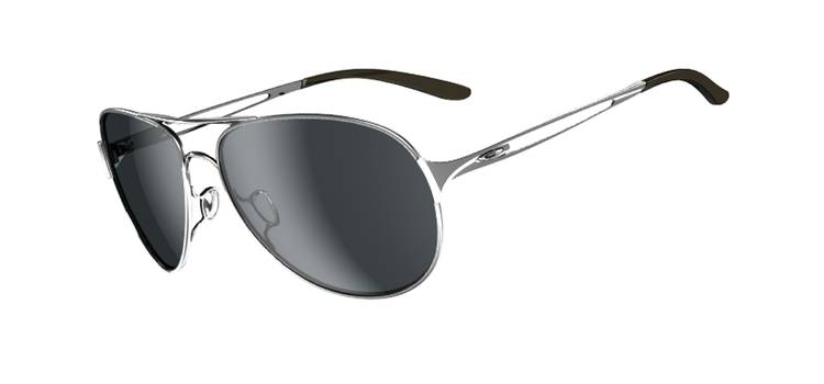 SGD$250 OAKLEY CAVEAT™ SKU# OO4054-02 Color: Polished Chrome/Grey Singapore