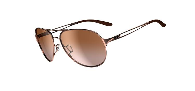 OAKLEY CAVEAT™ SKU# OO4054-01 Color: Rose Gold/VR50 Brown Gradient Singapore