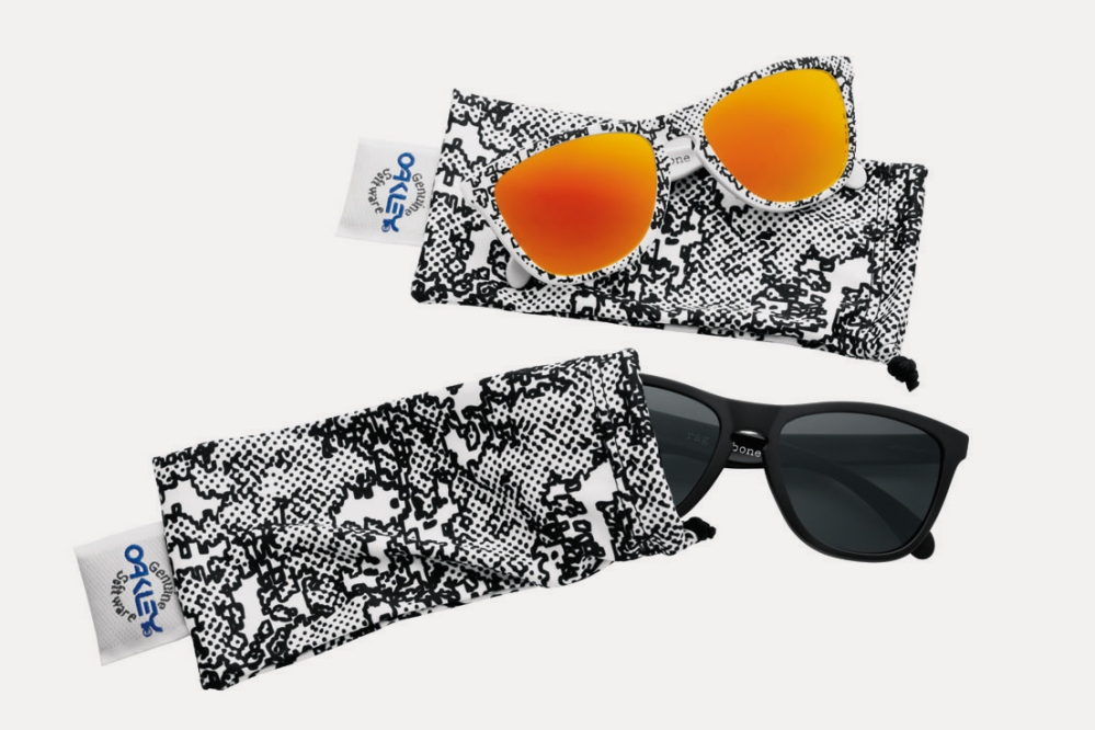 Both pieces of Oakley x Rag & Bone Frogskins. 300 pieces worldwide.